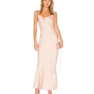 SHONA JOY Calypso LUXE bias COWL SLIP dress